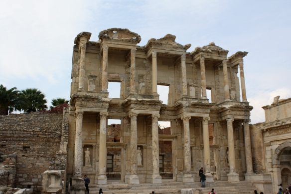 The Library of Celsus, also the tomb of Celsus
