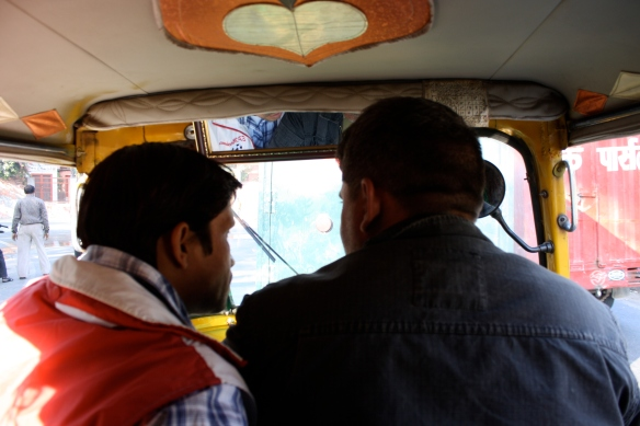 our driver on the right, our guide on the left